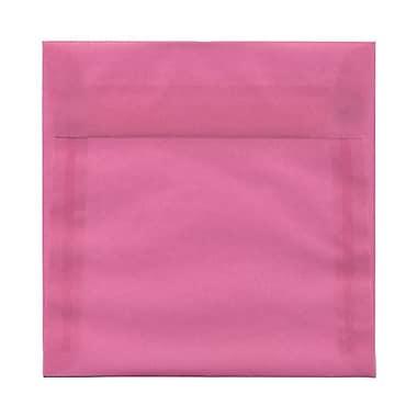 JAM PaperMD – Enveloppes carrées Strathmore à fermeture gommée, papier vélin, 6 x 6 po, blanc lumineux