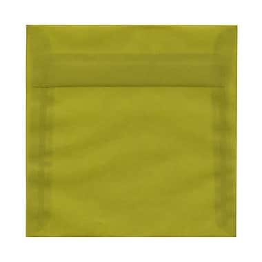 JAM Paper® Square Translucent Vellum Envelopes with Gum Closures 6-1/2