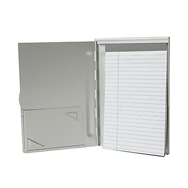 JAM Paper® Aluminum Pad Holder, Medium, 5.75 x 8.25, Silver, Sold Individually (7335SILVER)