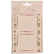 JAM Paper® Gift Label Name Tag Stickers, 2 1/4 x 3 1/2, Colorful Fiesta, 24 Labels/Pack (249824361)