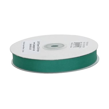 JAM Paper® Grosgrain Ribbon, 5/8 inch wide x 25 Yards, Green, Sold Individually (7896739)