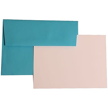 JAM Paper® A7 Brite Hue Recycled Stationary Sets With 25 Cards & Envelopes
