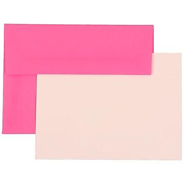 JAM Paper® A6 Brite Hue Stationary Sets With 25 Cards & Envelopes
