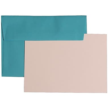 JAM Paper® 4Bar Brite Hue Recycled Stationary Sets With 25 Cards & Envelopes