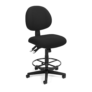 OFM™ Fabric 24-Hour Computer Task Stools
