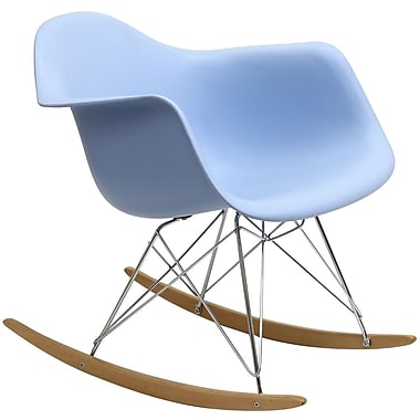 Modway Rocker Lounge Chair, Blue (EEI-147-BLU)