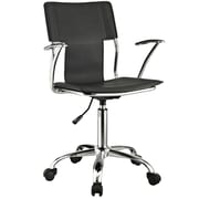 Modway Vinyl Studio Mid Back Office Chairs