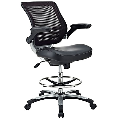 Modway EEI211 Drafting Chair Black Staples