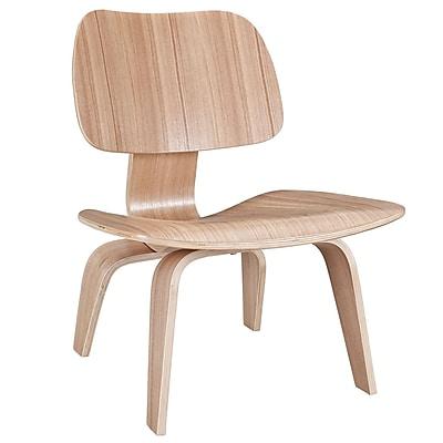 Modway Lounge Chair, Natural (EEI-510-NAT)