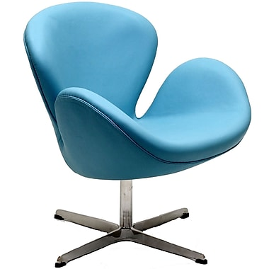 Modway Leather Wing Lounge Chair (EEI-527)