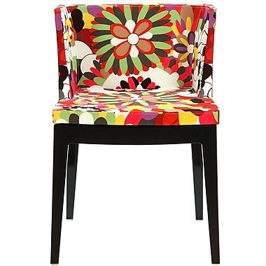 Modway Flower Fabric Side Chair, Clear (EEI-553-CLR)