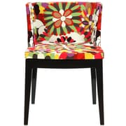 Modway Flower Fabric Side Chair, Clear (EEI-553-CLR)