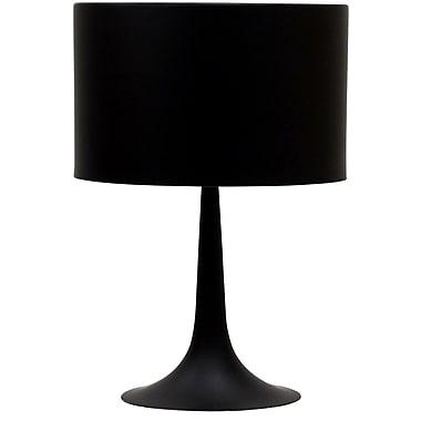 Modway Silk Table Lamp, Black
