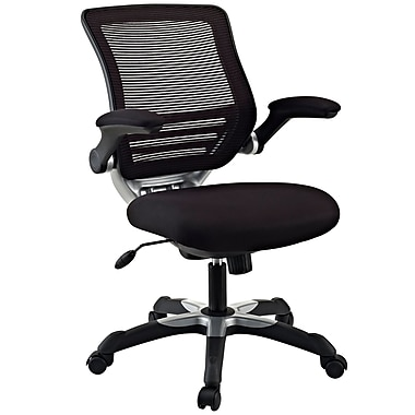Modway Edge Mesh Executive Office Chair, Adjustable Arms, Black (848387010669)