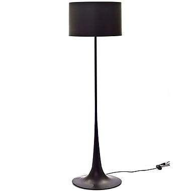 Modway 60W Silk Floor Lamp, Black