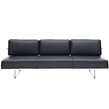 Modway Le Corbusier LC5 Leather Sofas