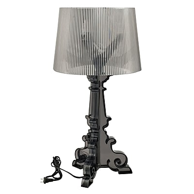 Modway French Acrylic Table Lamp, Black