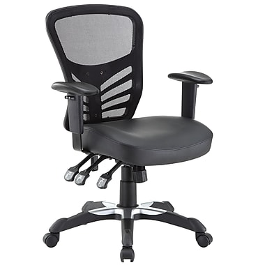 Modway Articulate Mesh Executive Office Chair, Adjustable Arms, Black (848387008338)