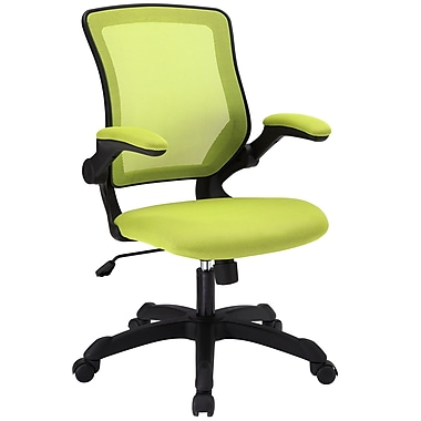 Modway Veer Mesh Executive Office Chair, Adjustable Arms, Green (848387015497)