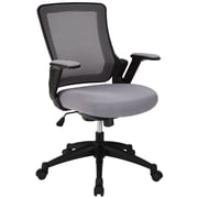 Modway Aspire Mesh Computer and Desk Office Chair, Adjustable Arms, Gray (848387001735)