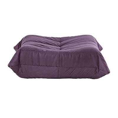 Modway Waverunner Ottoman, Purple