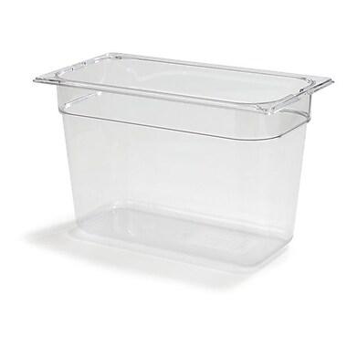 Carlisle 1026907, One-Third Size PC Food Pans - 8'' (7.3 qt), Clear