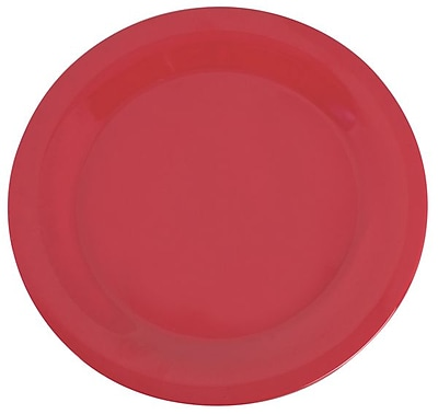 Carlisle Sierrus 10.5'' Dinner Plate, Red
