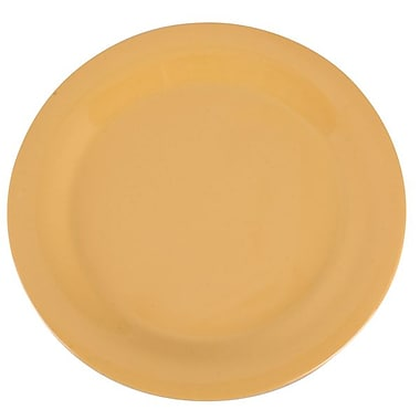 Carlisle Sierrus 10.5'' Dinner Plate, Honey Yellow