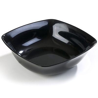 Carlisle 8 qt, 13.75'' Medium Flared Bowl, Black