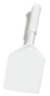Carlisle Sparta Spatula w/Plastic Handle 13-1/2'', White