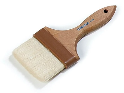 Carlisle Chef Series 4'' Wide Flat Brush with Boar Bristles, Not Applicable