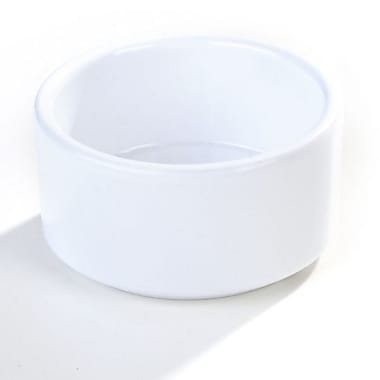 Carlisle 3 oz Straight Sided Ramekin, White