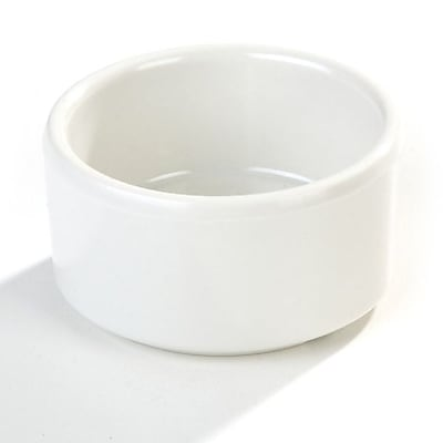 Carlisle 3 oz Straight Sided Ramekin, Bone