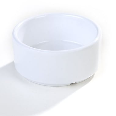 Carlisle 4 oz Straight Sided Ramekin, White