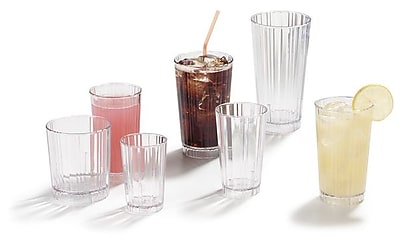 Carlisle 4363707, 12 oz Lafayette PC Old Fashion Tumbler, Clear