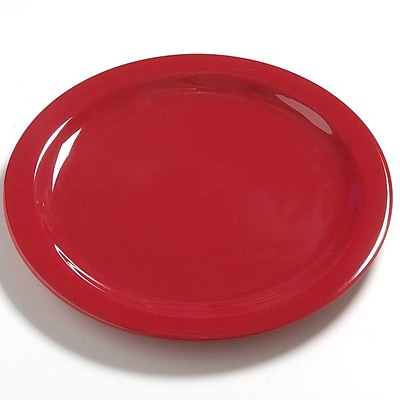 Carlisle Dayton 10.25'' Dinner Plate, Red