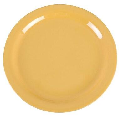 Carlisle Dayton 9'' Dinner Plate, Honey Yellow