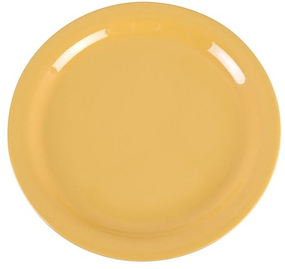 Carlisle Dayton 9'' Dinner Plate, Honey Yellow