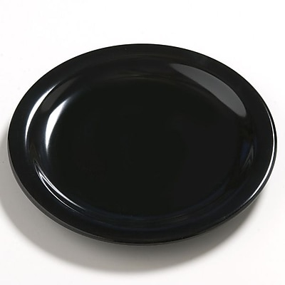 Carlisle Dayton 7.25'' Salad Plate, Black