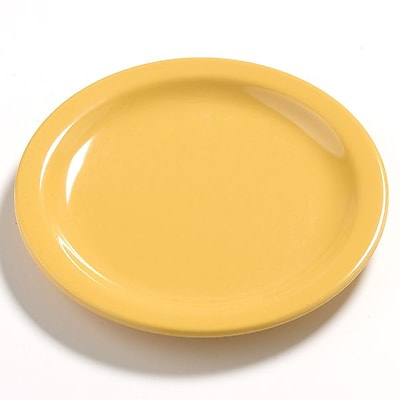 Carlisle Dayton 5.63'' Bread & Butter Plate, Honey Yellow