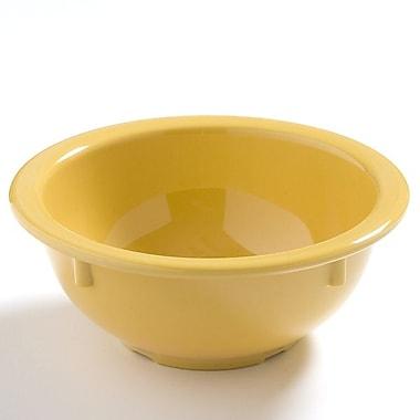 Carlisle Dayton 14 oz, 5.5'' Rim Nappie Bowl, Honey Yellow
