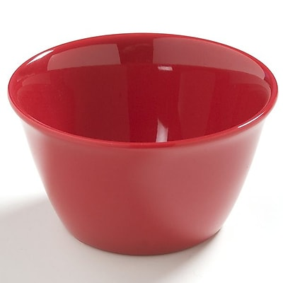 Carlisle Dayton 8 oz, 3.75'' Bouillon Cup, Red