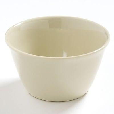 Carlisle Dayton 8 oz, 3.75'' Bouillon Cup, Oatmeal 448045