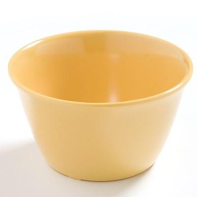 Carlisle Dayton 8 oz, 3.75'' Bouillon Cup, Honey Yellow