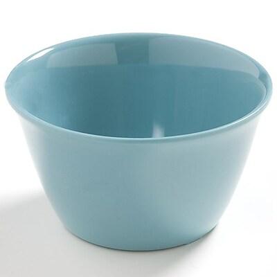 Carlisle Dayton 8 oz, 3.75'' Bouillon Cup, Turquoise 448033