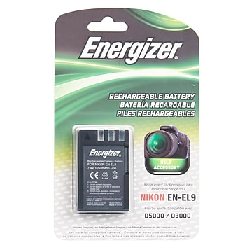 Energizer® ENB-NEL9 Digital Replacement Battery EN-EL9 For Nikon D3X