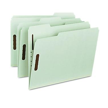 Smead® Letter 1/3 Cut Tab Fastener Folder With 1