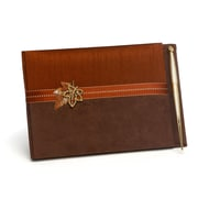 HBH™ Fall in Love Guest Book, Brown