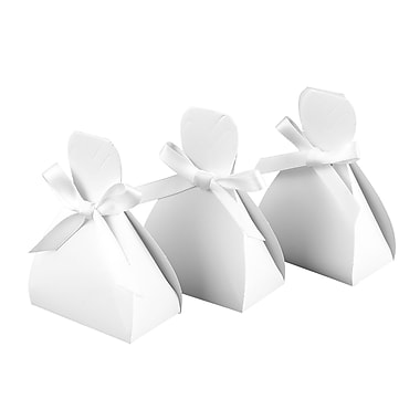 HBH™ Dress Favor Boxes, White
