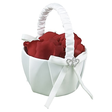 HBH™ With All My Heart Basket, White